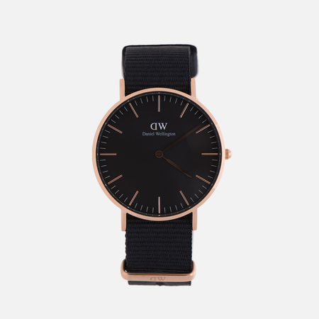 Женские наручные часы Daniel Wellington Classic Black Cornwall Rose Gold