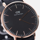 Женские наручные часы Daniel Wellington Classic Black Cornwall Rose Gold фото- 2