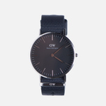 Женские наручные часы Daniel Wellington Classic Black Cornwall Silver фото- 0