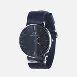 Женские наручные часы Daniel Wellington Classic Black Cornwall Silver фото- 1