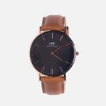 Женские наручные часы Daniel Wellington Classic Black Durham Rose Gold фото- 0