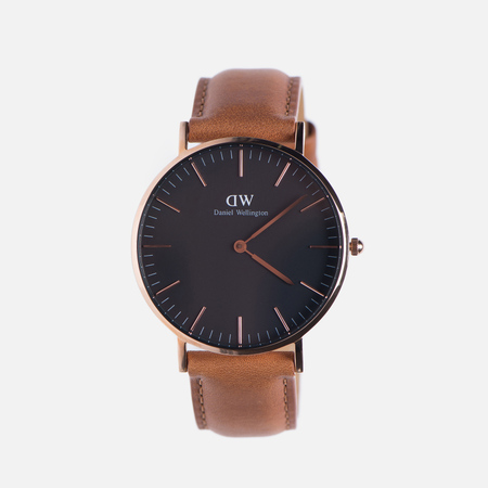 Женские наручные часы Daniel Wellington Classic Black Durham Rose Gold