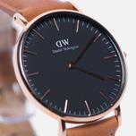 Женские наручные часы Daniel Wellington Classic Black Durham Rose Gold фото- 2