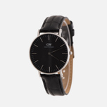 Женские наручные часы Daniel Wellington Classic Black Reading 36mm Silver фото- 1
