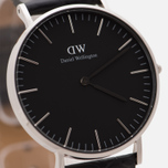 Женские наручные часы Daniel Wellington Classic Black Reading 36mm Silver фото- 2