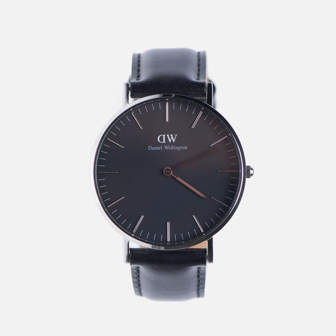 Женские наручные часы Daniel Wellington Classic Black Sheffield Silver