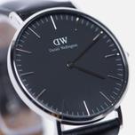 Женские наручные часы Daniel Wellington Classic Black Sheffield Silver фото- 2