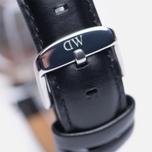 Женские наручные часы Daniel Wellington Classic Black Sheffield Silver фото- 3