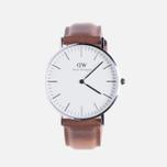 Женские наручные часы Daniel Wellington Classic Durham Silver фото- 0