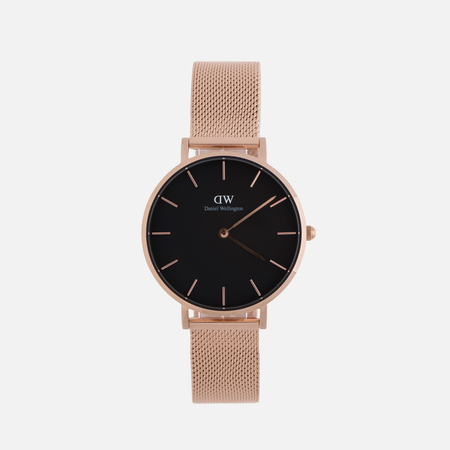 Женские наручные часы Daniel Wellington Classic Petite Melrose 32mm Black