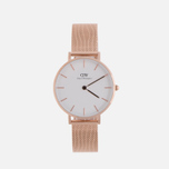 Женские наручные часы Daniel Wellington Classic Petite Melrose 32mm White фото- 0