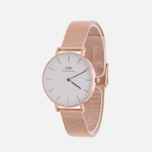Женские наручные часы Daniel Wellington Classic Petite Melrose 32mm White фото- 1
