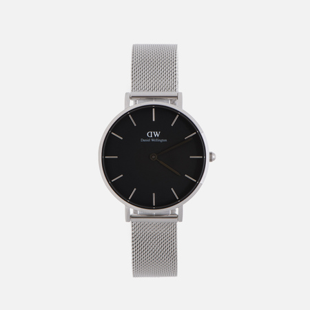 Женские наручные часы Daniel Wellington Classic Petite Sterling 32mm Black