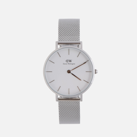 Женские наручные часы Daniel Wellington Classic Petite Sterling 32mm White