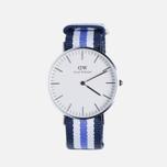 Женские наручные часы Daniel Wellington Classic Trinity Silver фото- 0