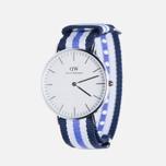 Женские наручные часы Daniel Wellington Classic Trinity Silver фото- 1