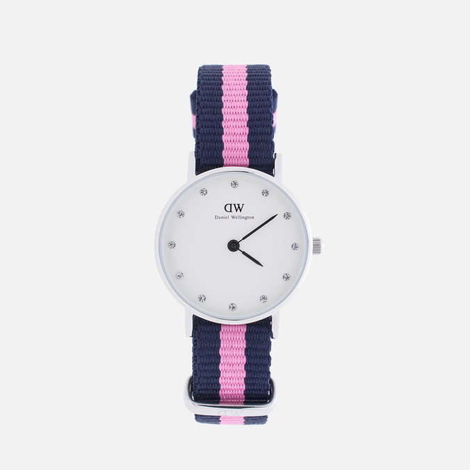Daniel Wellington Classic Winchester Women's Watch White Dial Silver