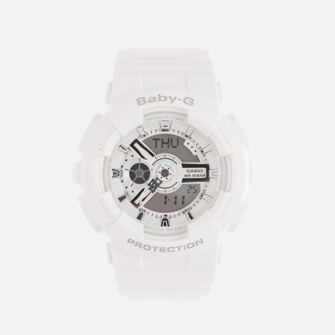 Женские наручные часы CASIO Baby-G BA-110-7A3ER White