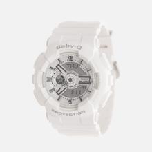 Женские наручные часы CASIO Baby-G BA-110-7A3ER White фото- 1