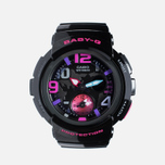 CASIO Baby-G BGA-190-1BER Women's Watch Black photo- 0