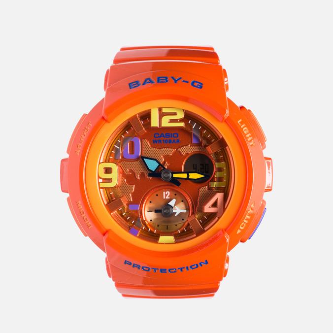Женские наручные часы Casio Baby-G BGA-190-4BER Orange
