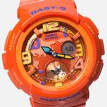 Женские наручные часы Casio Baby-G BGA-190-4BER Orange фото- 2