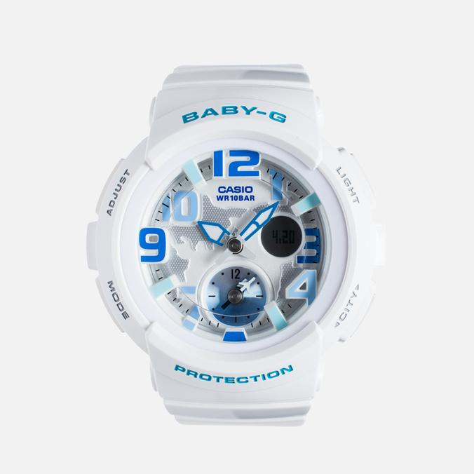 Женские наручные часы Casio Baby-G BGA-190-7BER White