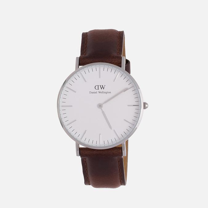 Женские наручные часы Daniel Wellington Classic B St Mawes Silver