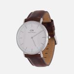 Женские наручные часы Daniel Wellington Classic B St Mawes Silver фото- 1