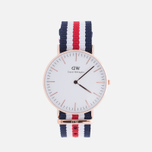 Женские наручные часы Daniel Wellington Classic Canterbury Rose Gold фото- 0