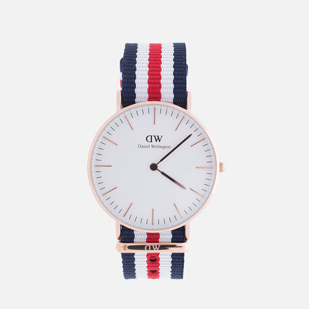Женские наручные часы Daniel Wellington Classic Canterbury Rose Gold