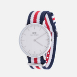 Женские наручные часы Daniel Wellington Classic Canterbury Silver фото- 1