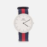 Женские наручные часы Daniel Wellington Classic Oxford Silver фото- 0