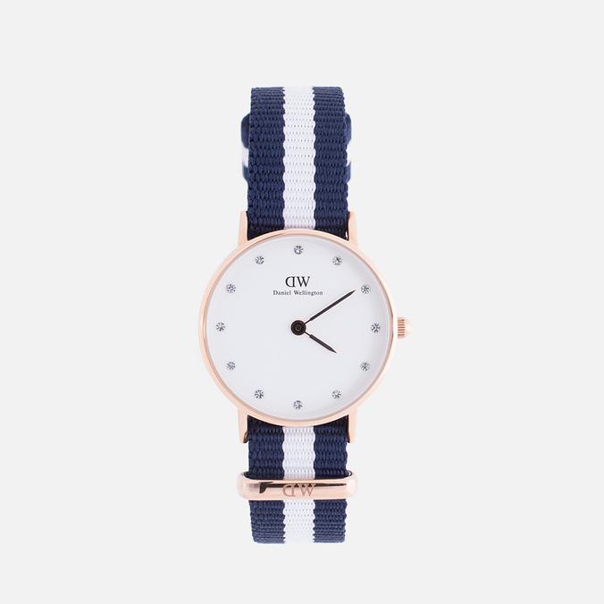 Женские наручные часы Daniel Wellington Classy Glasgow 26 mm Rose Gold