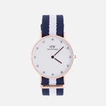 Женские наручные часы Daniel Wellington Classy Glasgow 34 mm Rose Gold фото- 0