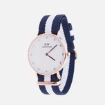 Женские наручные часы Daniel Wellington Classy Glasgow 34 mm Rose Gold фото- 1