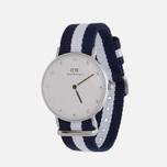 Женские наручные часы Daniel Wellington Classy Glasgow Silver фото- 1