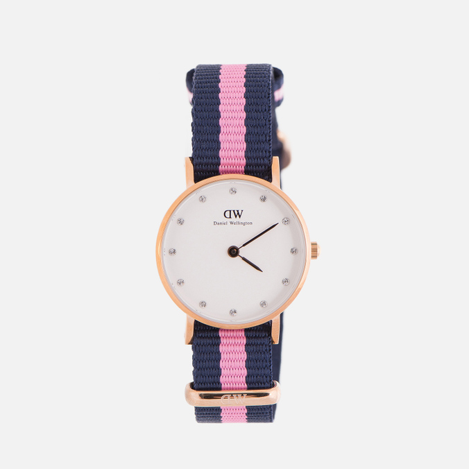 Женские наручные часы Daniel Wellington Classy Winchester 26 mm Rose Gold