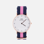 Женские наручные часы Daniel Wellington Classy Winchester 34 mm Rose Gold фото- 0