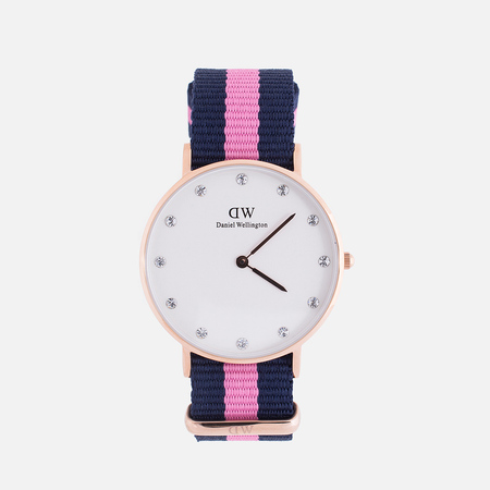 Женские наручные часы Daniel Wellington Classy Winchester 34 mm Rose Gold