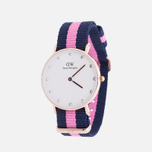 Женские наручные часы Daniel Wellington Classy Winchester 34 mm Rose Gold фото- 1