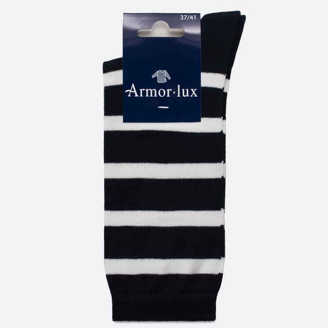Женские носки Armor-Lux Striped Rich Navy/White