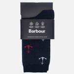 Женские носки Barbour Anchor Navy фото- 0