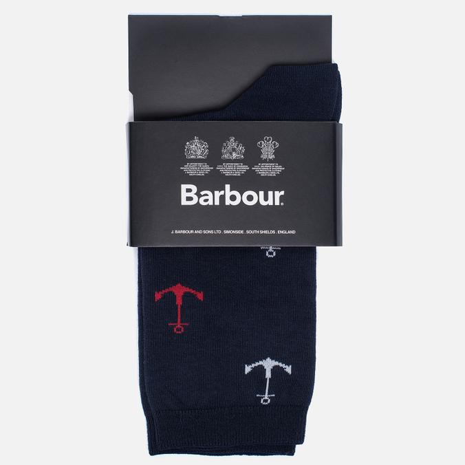 Женские носки Barbour Anchor Navy