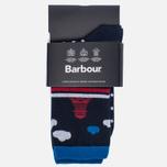 Женские носки Barbour Beacon And Spot Navy фото- 0