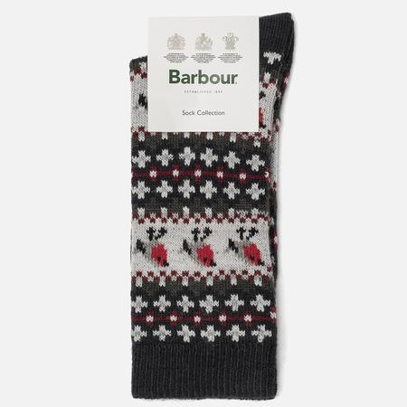 Женские носки Barbour Robin Fairisle Navy