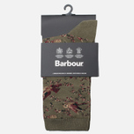 Женские носки Barbour Vintage Bird Olive фото- 0