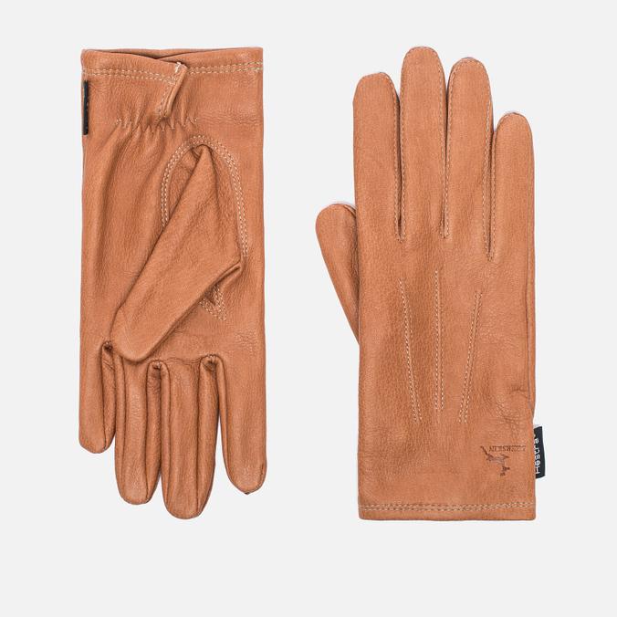 Женские перчатки Hestra Deerskin Silk Lined Cork