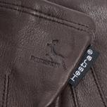 Женские перчатки Hestra Deerskin Silk Lined Dark Brown фото- 1