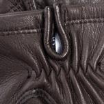 Женские перчатки Hestra Deerskin Silk Lined Dark Brown фото- 2